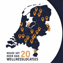 Alle deelnemende WELLNESSLOCATIES