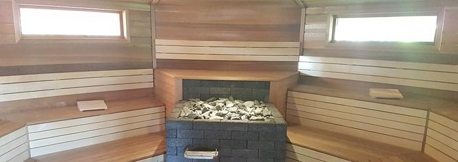 Sauna binnen
